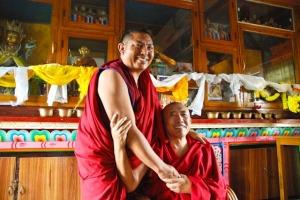 Geshes Dorjee & Wangchen